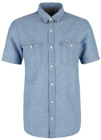 s.Oliver pánska košeľa M modrá