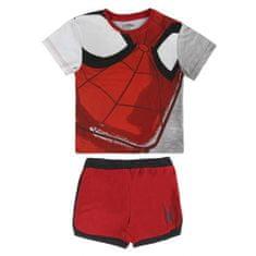 Disney Chlapecký set trička a kraťasů Spiderman - červeno-šedý