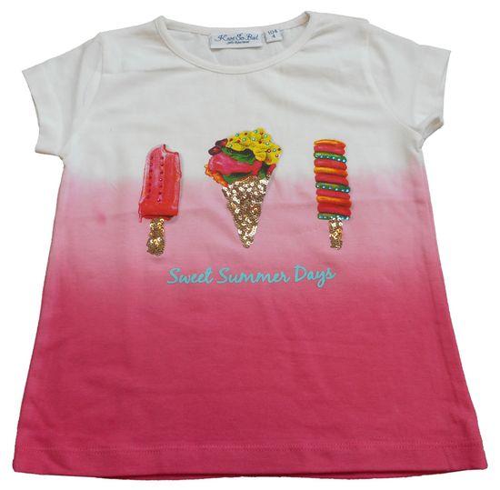 Carodel dívčí tričko 116 růžová