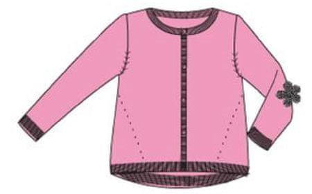 Carodel dievčenský sveter 92 ružová