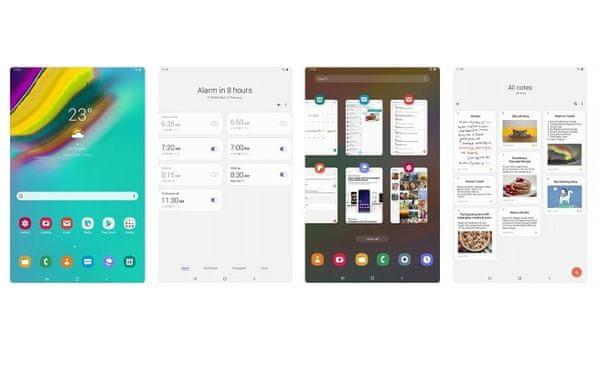 Samsung Galaxy Tab S5e, intuicyjna obsługa, One UI