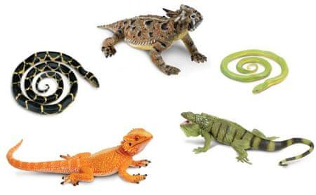 Safari Ltd. Kígyók és gyíkok (5 db)