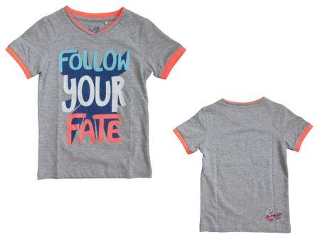 Carodel chlapčenské tričko 164 šedá