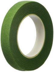 Decora Papírová páska na květinové dráty 12 mm 27 mm světle zelená