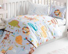 BedTex ZOO gyermek ágyhuzat, 100x135/40x60