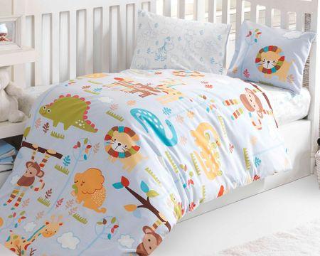 BedTex pościel dziecięca ZOO, 100x135/40x60