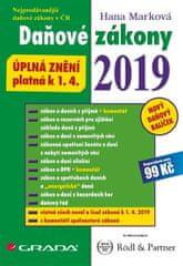 Marková Hana: Daňové zákony 2019 - Úplná znění k 1. 4. 2019