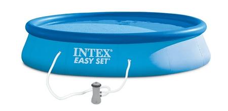 Intex kartušna filtracija Easy Set, 396 × 84 cm (28142NP)