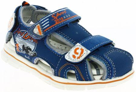 V+J fantovski sandali s formulo, 27, modri