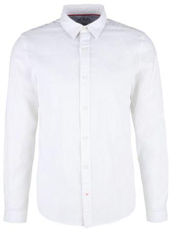 s.Oliver pánská košile M biela