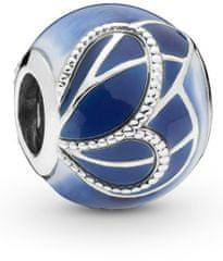 Pandora Ezüst gyöngy kék 797886HUM Pillangó ezüst 925/1000