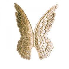 Papillon Nástěnná dekorace Křídla, 94 cm, zlatá