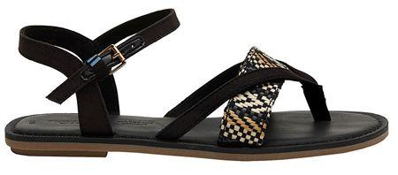 Toms Damskie sandały Black Lexi e (rozmiar 38)