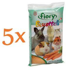 Fiory biskvit za glodalce, korenje, 5 x 35 g