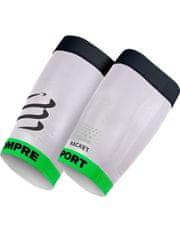 Compressport kompresijski rokav za stegenske mišice, bel