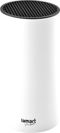 Lamart LT2082 stalak za noževe, 22,5 cm, bijel