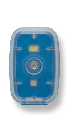 Silverpoint Svetelný Klip Light dobíjací modrý