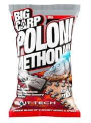 Bait-Tech Krmítková zmes Big Carp Method Mix Poloni 2 kg