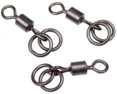 Nash Obratlík Double Ring Swivel 8ks