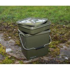 Trakker Plastový box na krmenie – Olive Square Container 13L