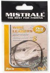 Mistrall Oceľové Lanko Wire Leaders 35 cm