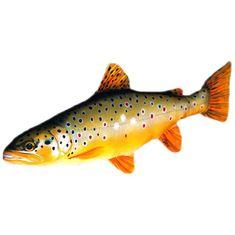 Gaby Plyšová ryba Pstruh Potočný 62 cm