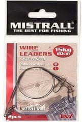 Mistrall Oceľové Lanko Wire Leaders 20 cm