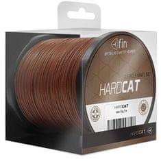 FIN Splietaná Šnúra Hard Cat 1,10 mm 100 kg Červenohnedá