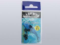 Carp ´R´ Us Carp'R' Us obratlík s krúžkom 360 ° ring Swivels