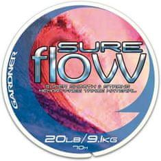 Gardner - Náväzcový vlasec Sure Flow 70 m crystal