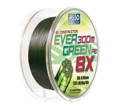 Asso Šnúra Evergreen 8-Braid Machovo Zelená 130 m