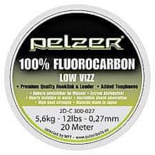 Pelzer - Návazcový vlasec Fluorocarbon 20 m crystal