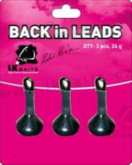Lk Baits Zadné olovo Back in Leads 3pcs 24g