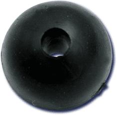 Black Cat gumové guličky rubber shock bead