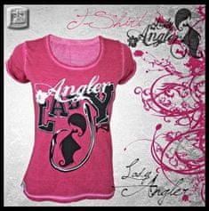 Hotspot Design Tričko Lady Angler ružové