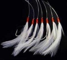 Shakespeare Náväzec Mackerel Feathers White
