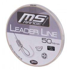 Saenger MS Range Náväzcový vlasec Leader Line 50 m crystal