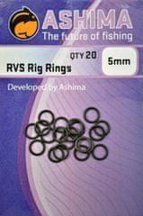 Ashima O krúžok RVS Rig Rings, 20ks