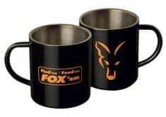 FOX Hrnček Stainless Mug 0,4l čierny matný