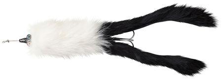 Abu-Garcia blyskáč hairy killer white black tail 21 g