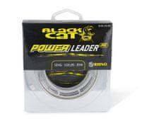 Black Cat náväzcová šnúra sumcová Power Leader 20 m Sand