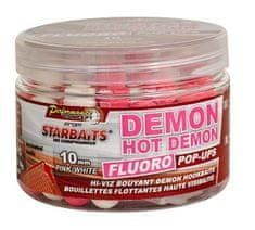 Starbaits Boilie Fluo plávajúce Hot Demon
