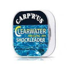 Carp ´R´ Us Clearwater - náväzcový fluorocarbon 20 m crystal