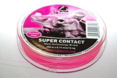 Lk Baits Splietaná Šnúra SUPER CONTACT Braid 200m ružová