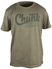 FOX Tričko Chunk Stonewash T-shirt Olivei
