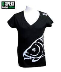 R-SPEKT Tričko Lady Carper čierne