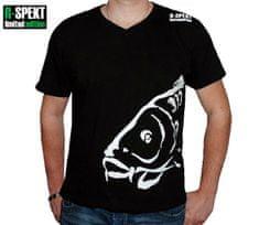 R-SPEKT Tričko Carper čierne