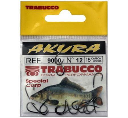 Trabucco Háčiky Akura 9000 15 ks 2/0
