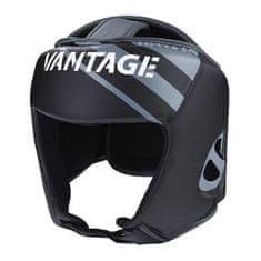 "VANTAGE Prilba ""Open Face"", čierna"