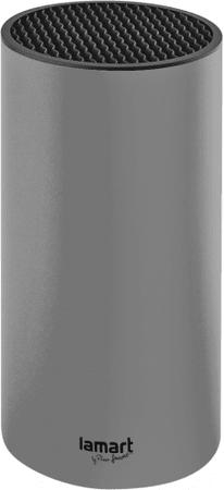 Lamart LT2083 stojalo za nože, 22,5 cm, sivo